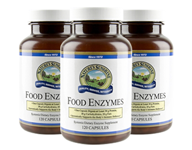 Nature's Sunshine Food Enzymes - #3