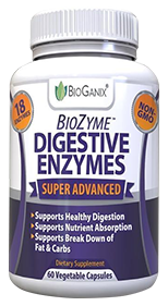 BioGanix BioZyme Digestive Enzymes IBS Supplement Review