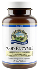 Nature's Sunshine Food Enzymes IBS Supplement Review